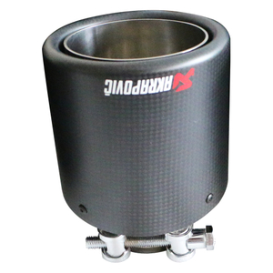 Beautiful 3k Twill Carbon Fiber Exhaust Tip