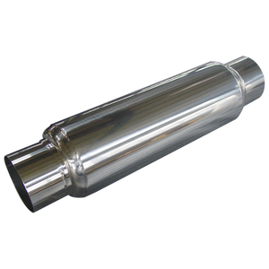 Oval Stainless Universal Car Exhaust Muffler