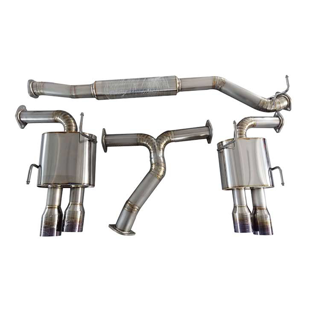 High-end Beautiful Titanium Alloy Subaru Exhaust System
