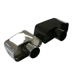 BMW 525 Stainless Steel 304 Mirror Polished Exhaust Tip