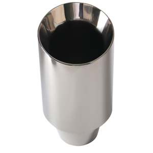 GRWA High Stainless Mirror Polished Car Exhaust Tip
