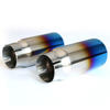 Titanium-plated Non-fading Hot-selling Stainless Steel 201 Exhaust Tip