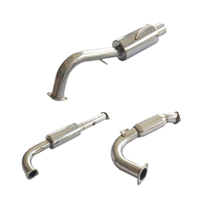 95-98 MITSUBISHI ECLIPSE -TURBO Stainless Steel 201 Mirror Polished Exhaust System