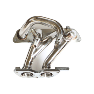 Toyota MR2 Spyder 1ZZ /91-95 Toyota MR2 MR-2 Celica GT4 1.25mm Stainless Steel 304/201 Exhaust Header