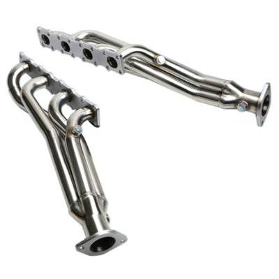 FOR 04-15 NISSAN TITAN/ARMADA A60 STAINLESS PERFORMANCE 1.25mm Stainless Steel 304/201 HEADER EXHAUST MANIFOLD