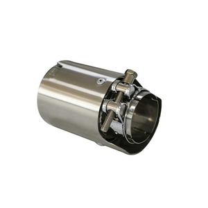 Hot Sale Solid Polished Stainless Steel 304 Exhaust Tip