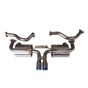 Hot Selling Porsche High Quality Titanium Alloy Exhaust System