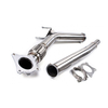 VW Golf GTi Jetta Audi A3 Stainless Steel 201 Mirror Polished Exhaust Downpipe