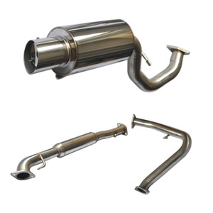 Mitsubishi Eclipse 4Cyl Cat Back Stainless Steel 201 Mirror Polished Exhaust System