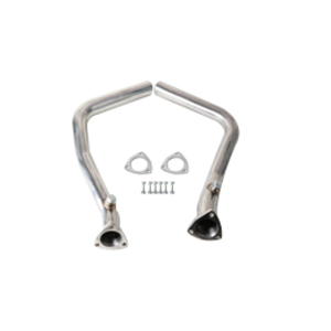 Porsche 986 Cat Pipes SS201+Mirror Polished exhaust doenpipe